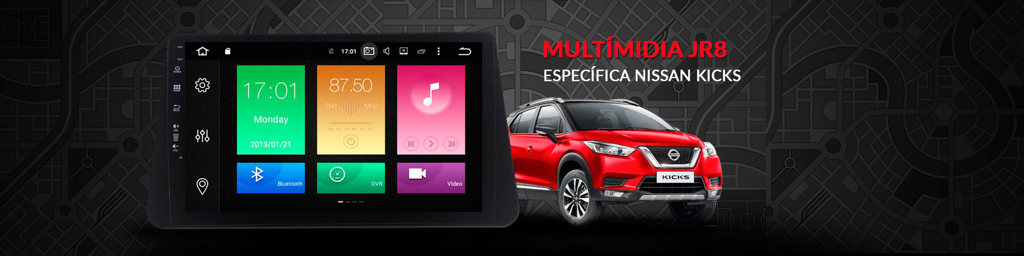 DRT.4. MULTIMÍDIAS AUTOMOTIVAS JR8 NISSAN KICKS