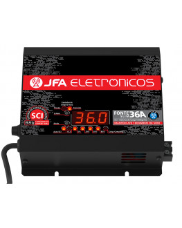 Fonte Automotiva Digital e Carregador 36A JFA