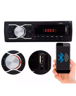Rádio Automotivo 50681 APP / FM / SD / BLUETOOTH 2x45W Cinoy